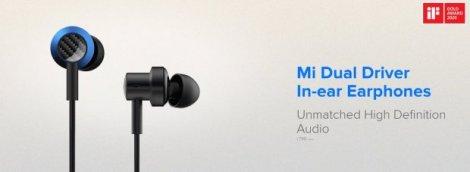 Xiaomi представила дводрайверні навушники, які ніколи не заплутуються