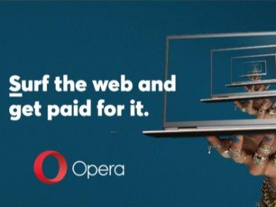 Opera открывает конкурс на должность персонального браузера.  Задача нового сотрудника – просто  сидеть в интернете
