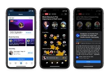 Facebook анонсировал запуск своего аналога Clubhouse