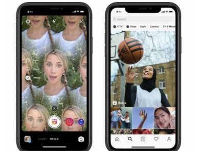 Instagram запустила Reels - клона TikTok