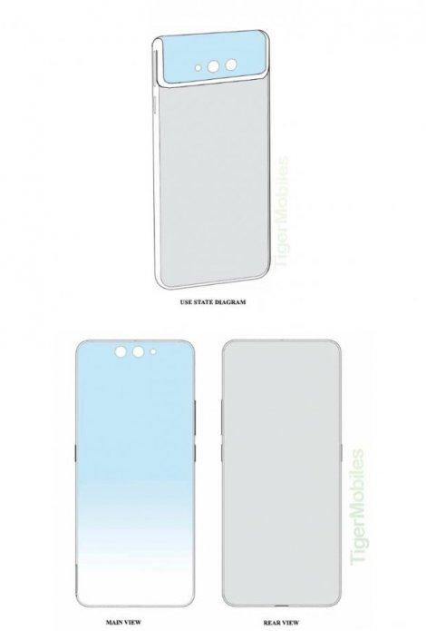 Xiaomi запатентувала смартфон із гнучкою камерою: фото