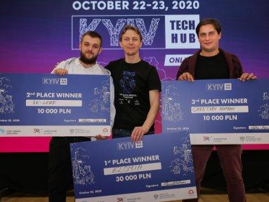 Переможці Kyiv Tech Hub 2020