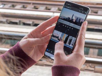 Adobe випустила відеоредактор Premiere Rush для Android