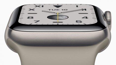 Apple планує оснастити Apple Watch технологією Touch ID