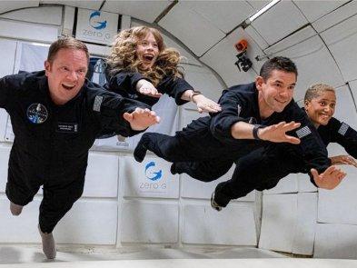 SpaceX отправила в космос четырёх туристов. Гражданский экипаж пробудет на орбите три дня