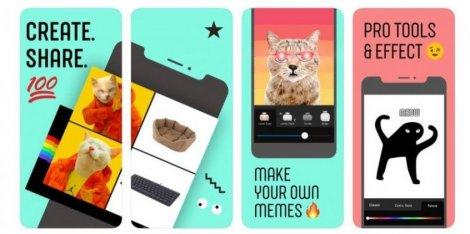 Покорить молодежь. Facebook тестирует приложение для создания мемов