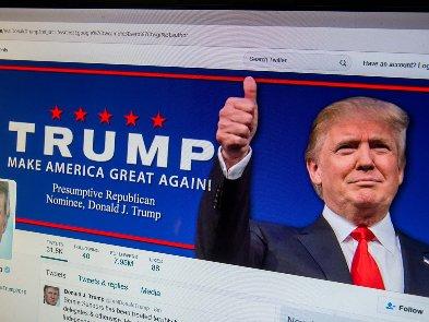 Сайт Трампа закрыли — он проработал месяц