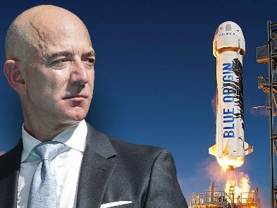 Blue Origin продала билет на полет в космос вместе с Джеффом Безосом за $28 миллионов