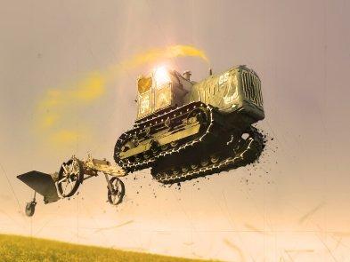 Украинцы изобрели летающий трактор