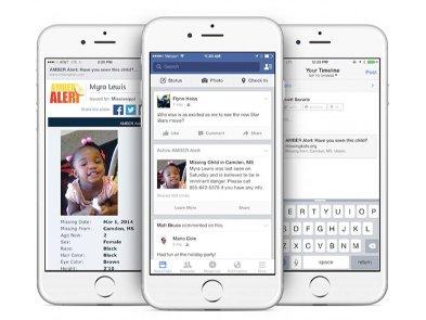 Facebook  запускає систему сповіщення для пошуку зниклих дітей в Україні