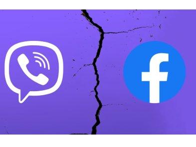 Viber больше не сотрудничает с Facebook