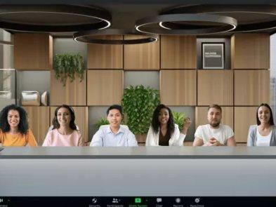 Zoom представил шаблон, в котором всех участников встречи показывают в одной «комнате»