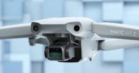 DJI випустила безпілотник Mavic Air 2 з 48-мегапіксельною камерою: відео