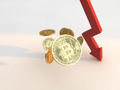 Курс биткоина упал до $42 тыс.  Что на треть меньше исторического максимума