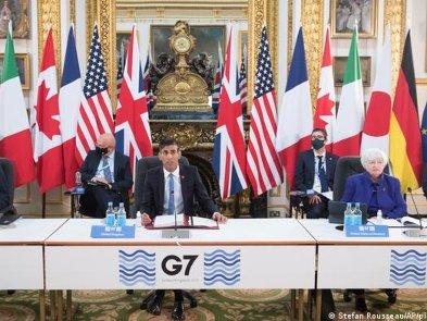 Страны G7 договорились о введении глобального цифрового налога