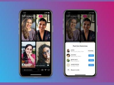 Instagram представил «комнаты» для четырех участников