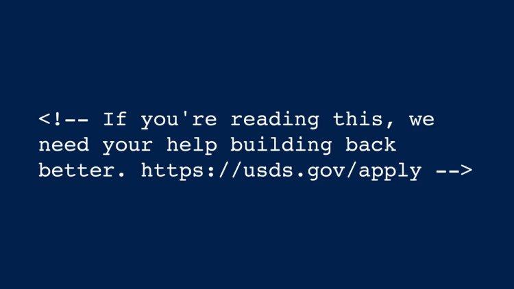 Новый сайт Белого дома содержит скрытое сообщение о найме кодеров