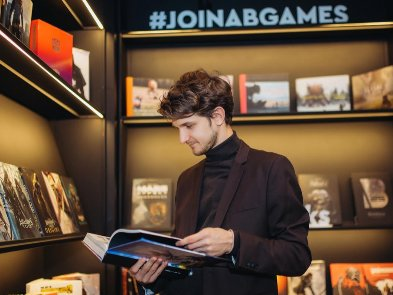 Бібліотека з колекцією артбуків: новий простір AB Library від геймдев-компанії AB Games