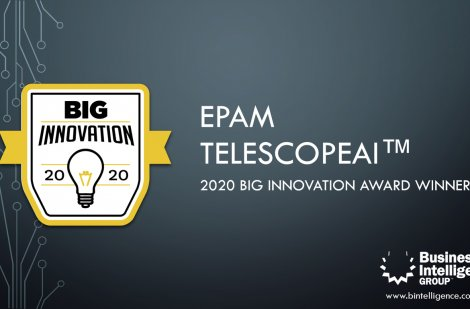 Компанія EPAM Systems отримала BIG Innovation Awards 2020
