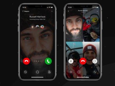 В Telegram для iOS заработали видеозвонки