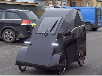 Украинец своими силами создал электромобиль по цене iPhone