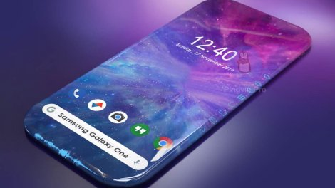 Samsung Galaxy One може отримати унікальний 3D-дисплей