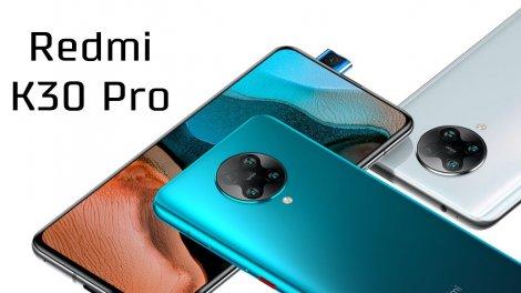 Xiaomi представила Redmi K30 Pro та K30 Pro Zoom