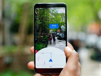 Google поможет туристам с помощью дополненной реальности