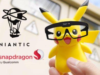 Qualcomm та автори Pokemon Go займуться створенням AR-окулярів на революційній платформі